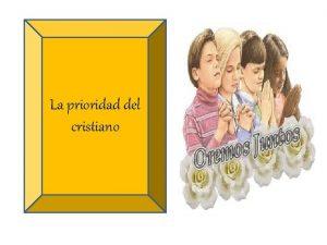 La prioridad del cristiano Filipenses 2 12 18
