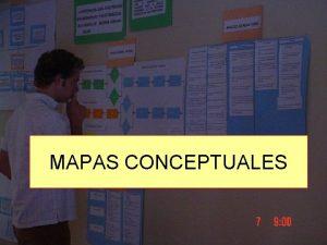 MAPAS CONCEPTUALES Mapa Conceptual Es una herramienta de