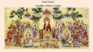 Trois Trsors Bouddha Dharma Sangha Trois Refuges Tisarana