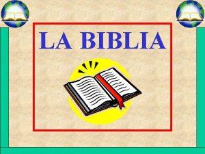 LA BIBLIA LA BIBLIA 2 TIMOTEO 3 16