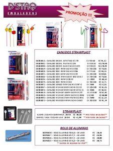 PROMO O CANUDOS STRAWPLAST 00280014 CANUDO DECOR ARTISTICO