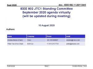 doc IEEE 802 11 201134 r 0 Sept