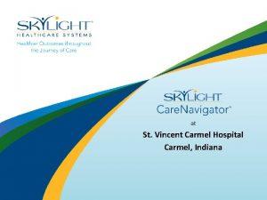 at St Vincent Carmel Hospital Carmel Indiana Main