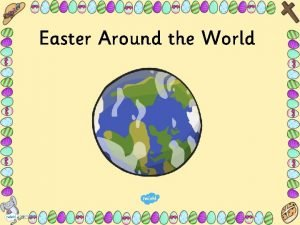 Easter Around the World Australia In Australia the