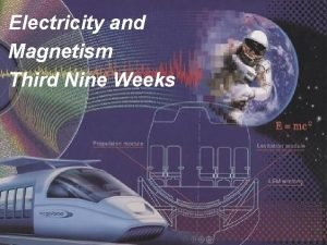Electricity and Magnetism Third Nine Weeks Electricity and