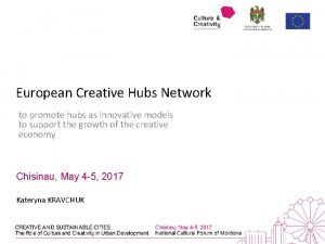 European Creative Hubs Network to promote hubs as