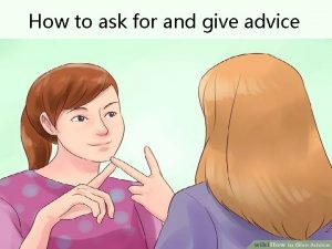 How to ask for and give advice 1