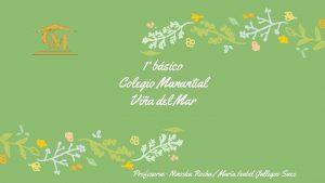 1 bsico Colegio Manantial Via del Mar Profesoras
