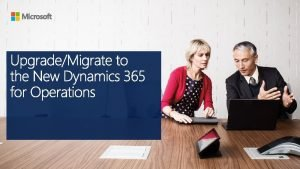 Microsoft Dynamics 365 for Operations Evolution from Dynamics