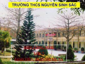 TRNG THCS NGUYN SINH SC I My bin