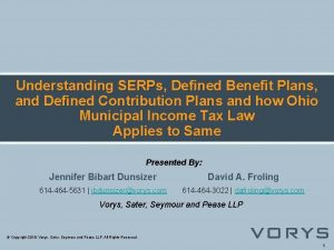 Understanding SERPs Defined Benefit Plans and Defined Contribution