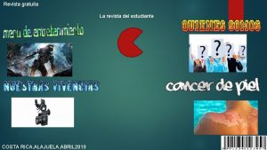 Revista gratuita La revista del estudiante COSTA RICA