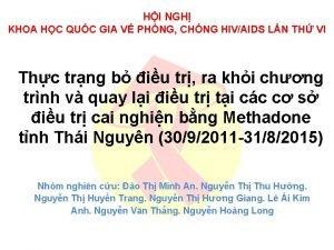 HI NGH KHOA HC QUC GIA V PHNG