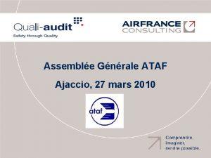 Assemble Gnrale ATAF Ajaccio 27 mars 2010 Qui