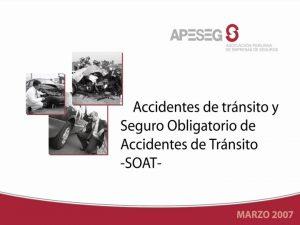 ACCIDENTES DE TRANSITO En nuestro pas los accidentes