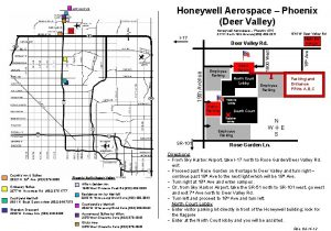 Honeywell Aerospace Phoenix Deer Valley Honeywell Aerospace Phoenix