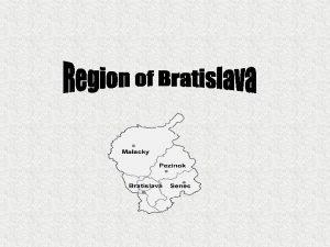 Interesting places of this area Devnska Kobyla Senec