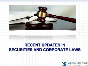 INTRODUCTION OF SEBI LISTING OBLIGATIONS AND DISCLOSURE REQUIREMENTS