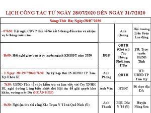 LCH CNG TC T NGY 28072020 N NGY