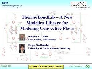Conference 2008 Thermo Bond Lib A New Modelica