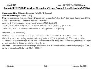 March 2017 doc IEEE 802 15 17 0127