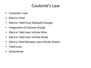 Coulombs Law Electric Field from Multiple Charges Integration