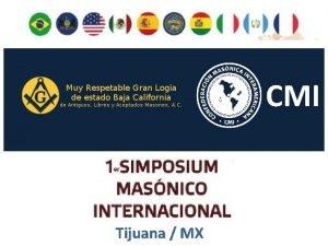 CMI Tijuana MX MAONARIA EXECUTIVA E RESPONSABILIDADE SOCIOINSTITUCIONAL