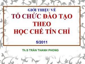 GII THIU V T CHC O TO THEO