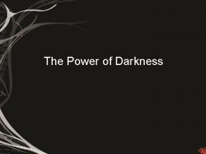 The Power of Darkness American Short Stories Emerge