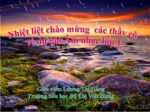 Gio vin Lng Th Hng Trng tiu hc