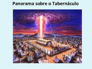 Panorama sobre o Tabernculo Tabernculo Morada habitao ou