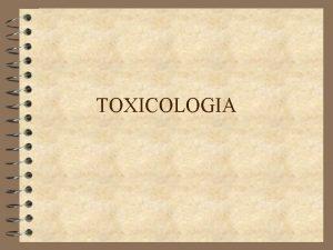 TOXICOLOGIA Introduccin 4 En 1787 nace el fundador