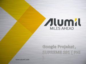 Najvea privatna grupacija za ekstrudiranje Aluminijuma jugoistone Evrope