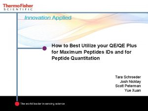 How to Best Utilize your QEQE Plus for