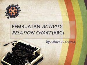 PEMBUATAN ACTIVITY RELATION CHART ARC by Asisten PLO