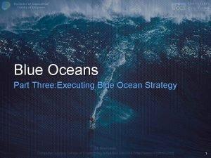 Blue Oceans Part Three Executing Blue Ocean Strategy
