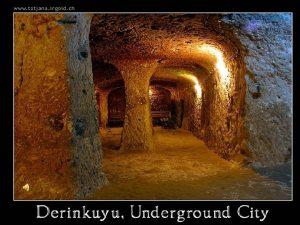 In 1963 an inhabitant of Derinkuyu in the