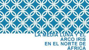 LA MEDIA LUNA Y EL ARCO IRIS EN