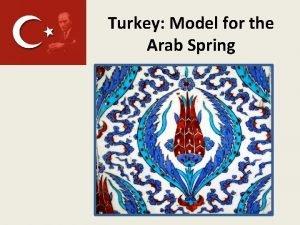 Turkey Model for the Arab Spring Turkey History