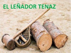 EL LEADOR TENAZ www vitanoblepowerpoints net Haba una