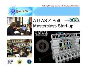 ATLAS ZPath Masterclass Startup The LHC and New