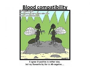 Blood compatibility Blood types A blood type also