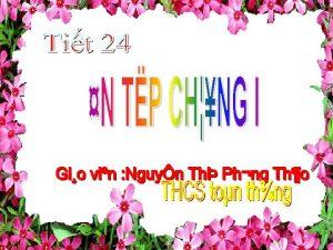 I NH NGHA A HNH D HNH THANG