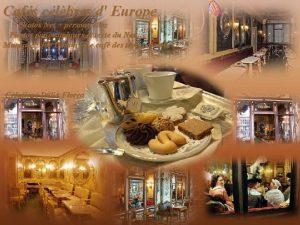 Cafs clbres d Europe Photos Net personnelles Photos