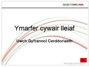 GCa D CYMRU NGf L Ymarfer cywair lleiaf