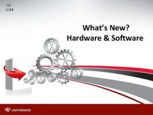 Q 2 2014 Whats New Hardware Software Whats