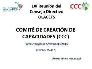 LXI Reunin del Consejo Directivo OLACEFS COMIT DE