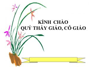 KNH CHO QU THY GIO C GIO KIM