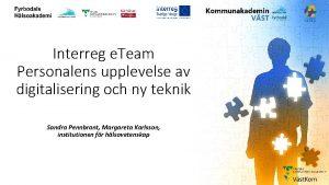 GITS Interreg e Team Personalens upplevelse av digitalisering