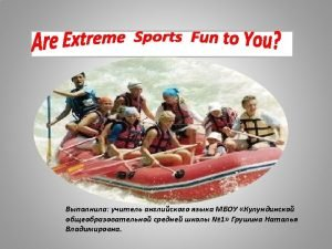 Idioms Meaning of extreme sports Proverb s Extreme